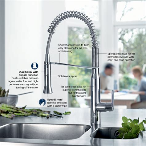 grohe kitchen faucet grohe k7 medium single handle pull sprayer kitchen