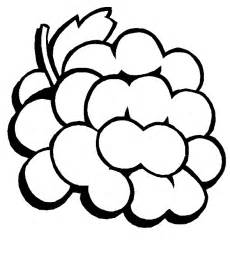 grapes coloring page free grapes coloring pages