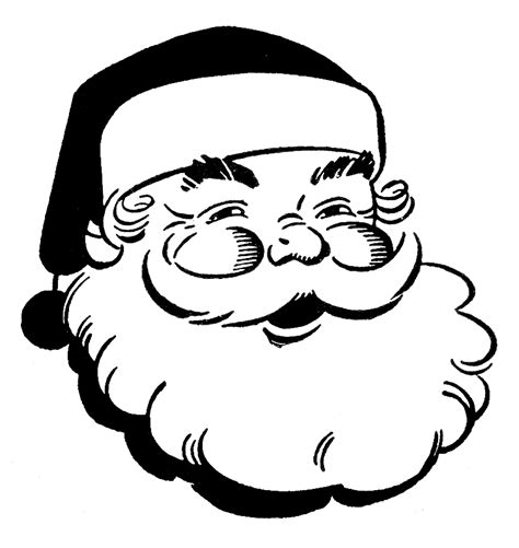 Gallery For Christmas Black And White Clip Art Clipartbold