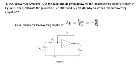capacitor gain formula electrical engineering archive march 14 2013 chegg