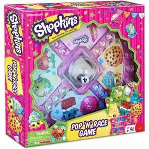 pressman toy shopkins pop race game walmart