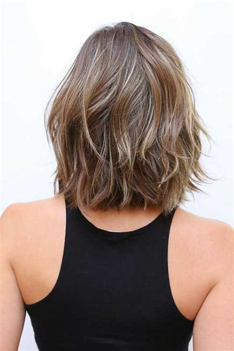 Back Of Shoulder Length Hair | 20 fresh and fashionable shoulder length haircuts crazyforus