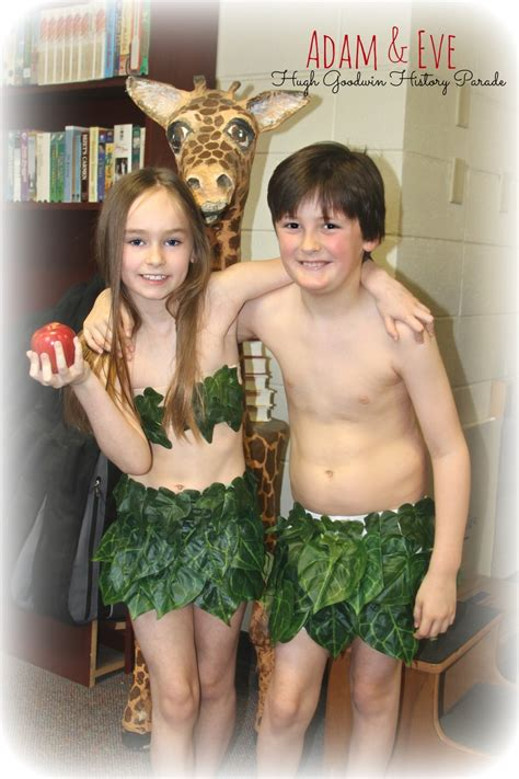 adam eve costume easy   diy costumes  kids