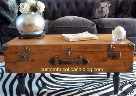 Customiser Une Valise Ancienne by Comment Recycler Ses Vieilles Valises