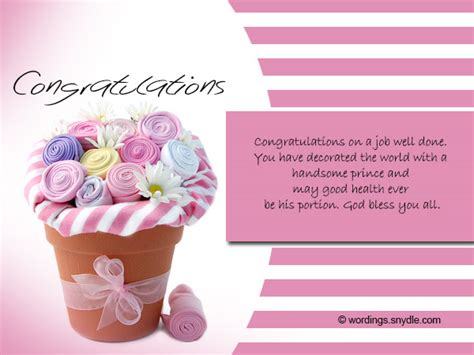Wedding Congratulation Messages Exle by Congratulations Quotes For New Baby Boy Baskan Idai Co