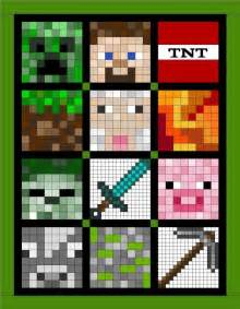 soq minecraft quilt quilts for someday
