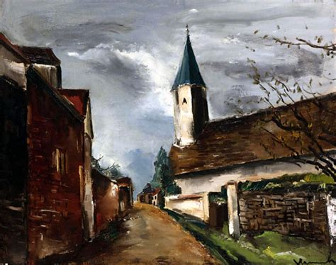 Noble Dispatch » Archive Maurice de Vlaminck's L'Eglise de