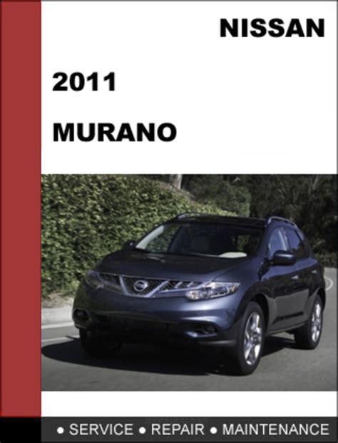 nissan murano 2011 workshop service repair manual car service