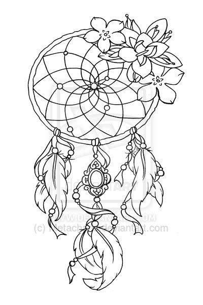 dream catcher tattoo outline tattoo designs for dreamcatcher 3 roses lotus flower tree