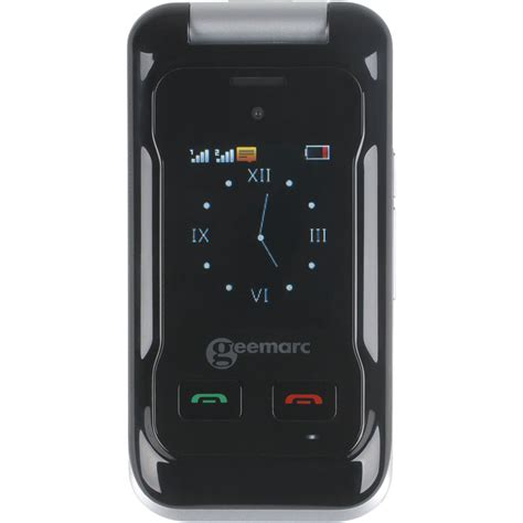 mobile por test geemarc cl8500 t 233 l 233 phones mobiles pour seniors