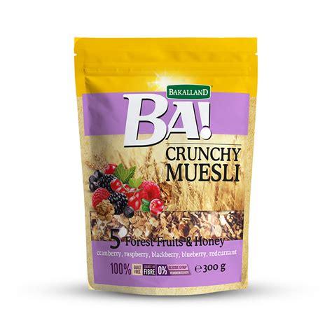Ba Mini Energy Bar 5 Dried Fruits Snack Penambah Energy breakfast cereals muesli bakalland