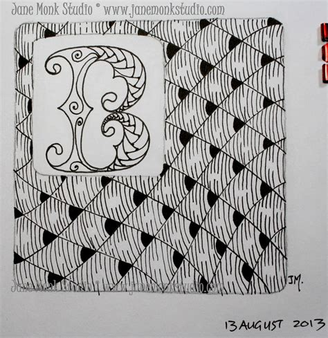 zentangle pattern enyshou one tangle day fifty eight doodles zentagles