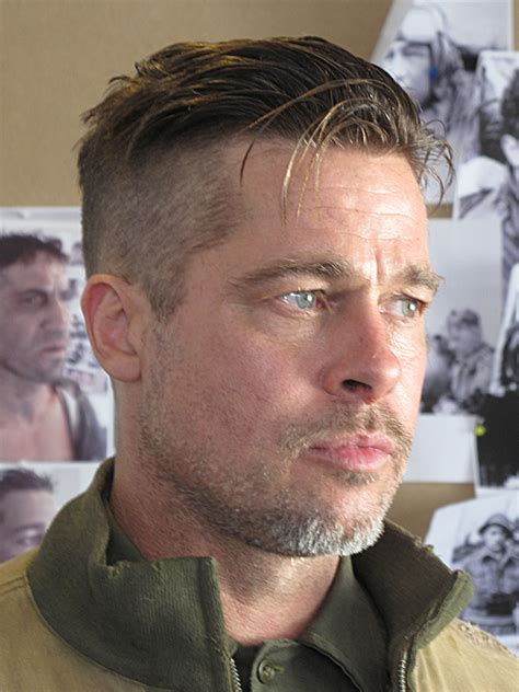 brad pitt new 2014 oscars inspired haircut tutorial thesalonguy brad pitt hair from fury professional guide on mens