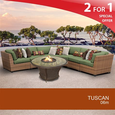 tuscan 6 outdoor wicker patio furniture set 06m 2