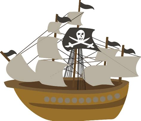pirate ship clip clipart free clipart on dumielauxepices net