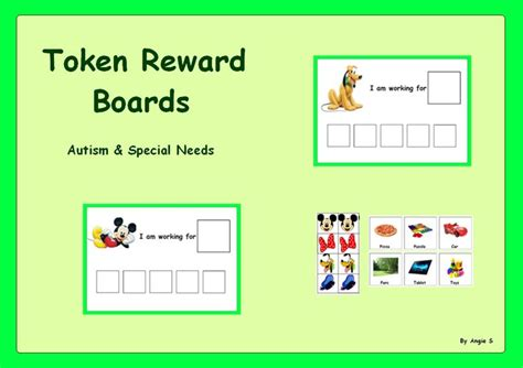 printable token boards autism bing images