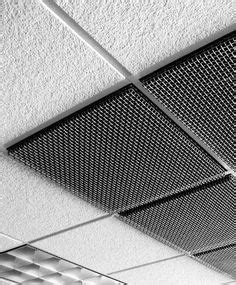 Drop Ceiling Grate by Metal Stretched Drop Ceiling Tiles Grid Panel L3 In 2018