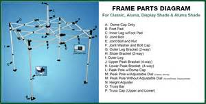 Quik Shade Instant Canopy Replacement Parts by Quik Shade Summit Replacement Parts Circuit Diagram Free
