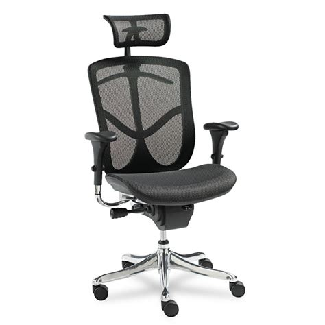 Ergonomic Chair Accessories by Alera 174 Eq Series Ergonomic Multifunction High Back Mesh