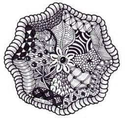 Zentangle Templates by Mandala 16 Zentangle Zendala Templates