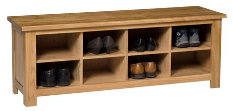 oak shoe storage bench waverly oak hall shoe bench storage unit hallowood