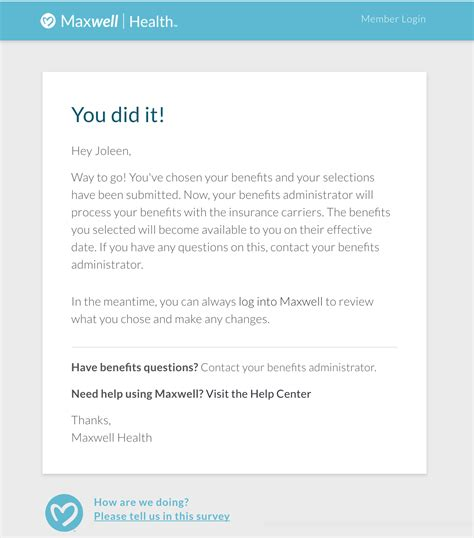 open enrollment email template system email templates support