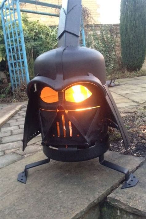 diy darth vader pit 10 creative recycling diy grill bbq and pit projects 1001 gardens