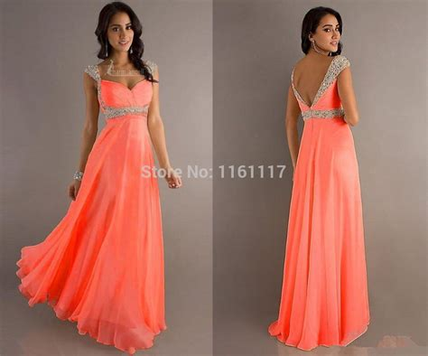 yolanda prom dress 2015 2015 new coral sexy hot formal party prom evening dress