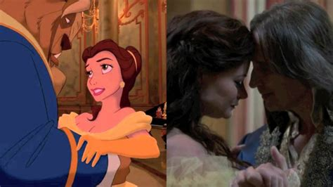 the beauty and the rumbelle vs beauty and the beast improved version youtube