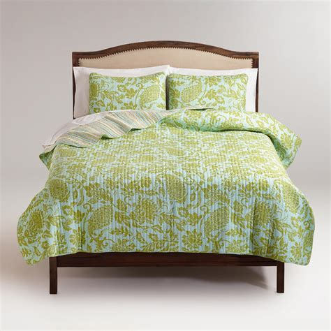 world market bedding bliss paisley bedding collection world market