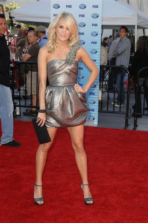 Which Of Carries Three Dresses Do You Like Best by Carrie Underwood Legs Carrie Underwood Is Leggy