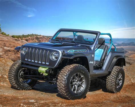 4 door tiffany blue jeep les concepts jeep de p 226 ques 2018 sont arriv 233 s blog
