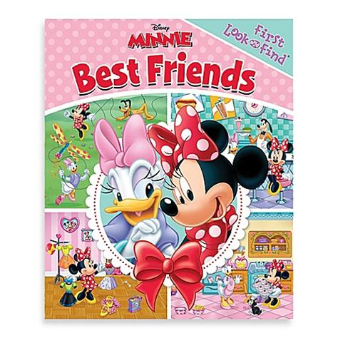 Looking For My Friend Search Disney 174 Minnie Mouse Best Friends My Look And Find 174 Board Book Buybuy Baby