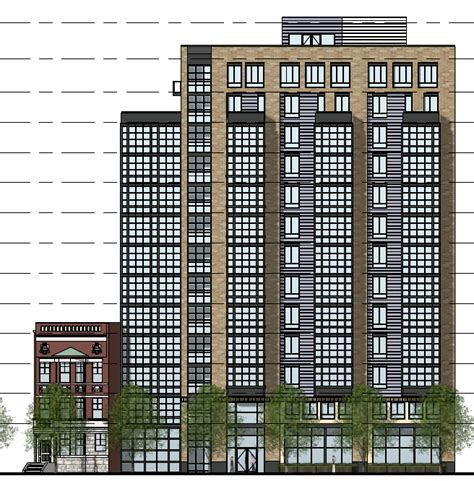 Eastshawdc Hotel Planned For 400 Block Of New York Avenue Nw Hotel Building Plans And Elevations