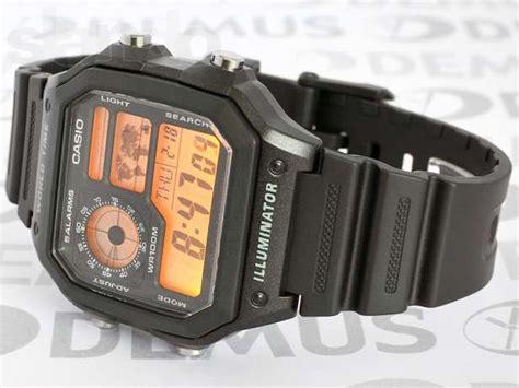 Casio Jam Tangan Ae 1200wh 1avdf Hitam jual jam tangan casio ae 1200wh 1avdf original pranwatchshop