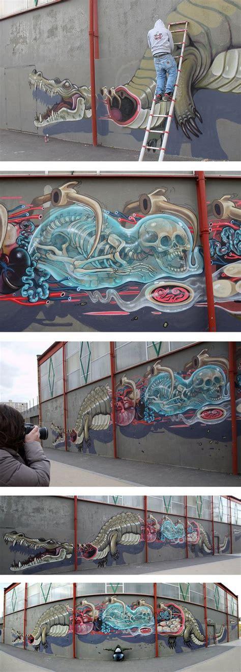graffiti art alligators  graffiti  pinterest