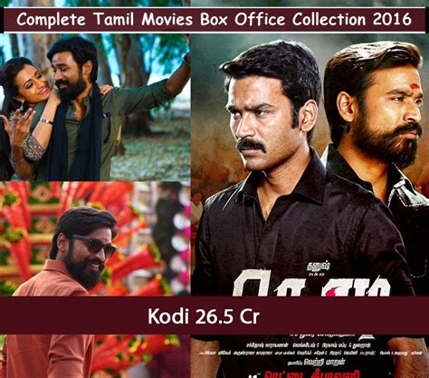 tamil film box office 2016 complete tamil movies box office collection 2016 photos