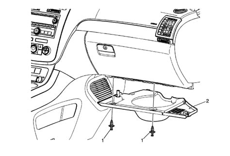 instrument panel fuse box located on saturn outlook your owner manual