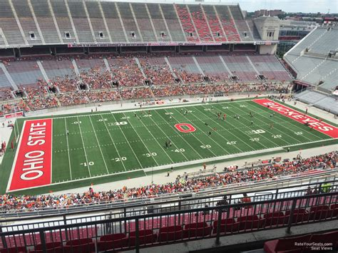 section 8 and 15 ohio stadium view from seats bing images