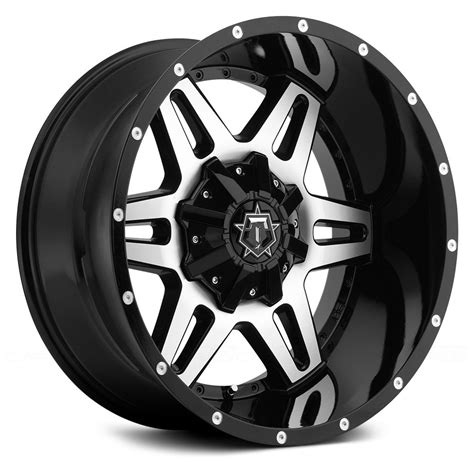 Lighting Experts by Tis 174 538mb Wheels Gloss Black With Machined Face And T
