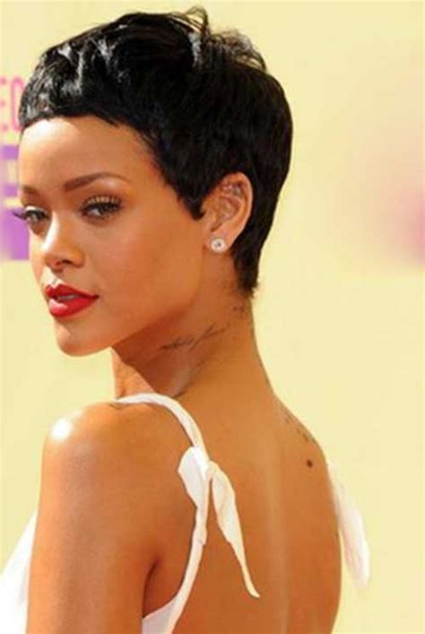 how to cut own pixie 15 best rihanna pixie cuts short hairstyles 2017 2018