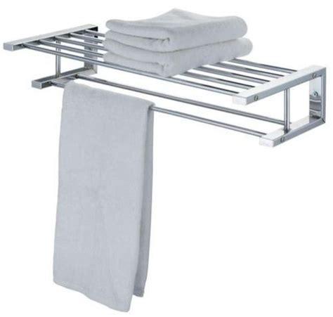 Modern Bathroom Towel Rack Modern Chrome Quality Bathroom Shelf Towel Stand Rack