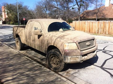 muddy truck lets see those muddy trucks ford f150 forum community