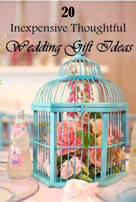 20 Inexpensive Thoughtful Wedding Gift Ideas   Frugal2Fab