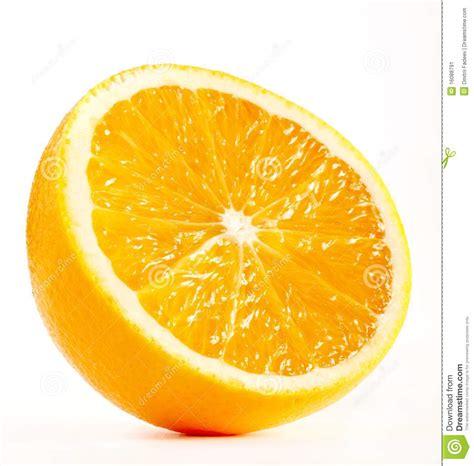 imagenes de uñas pintadas ala mitad mitad de una naranja fresca imagen de archivo imagen