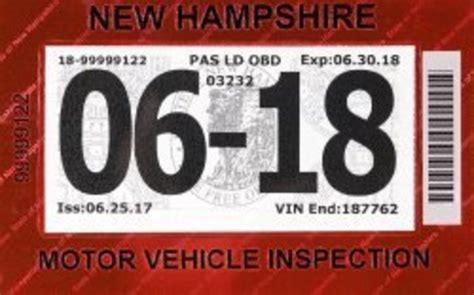 Inspection Sticker Expiration Date inspection sticker makeover new hshire eagletribune