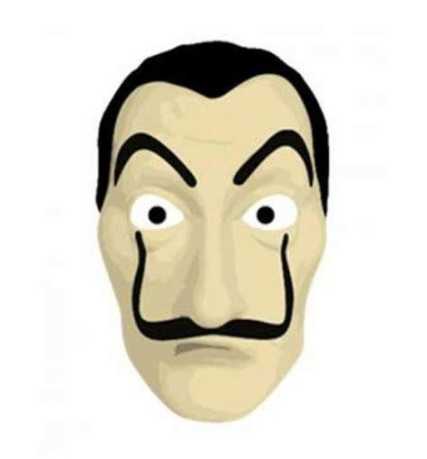 Mascara La m 225 scara la casa de papel salvador dali no elo7 artes
