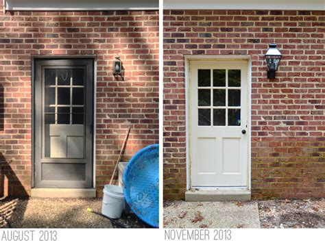 Back Entry Doors For Houses Updating Outdoor Eyesores Just A Few Days Late