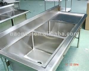 commercial stainless steel bowl kitchen sink with