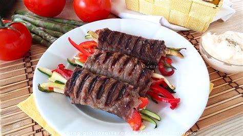 cucinare involtini di carne involtini di carne con verdure ricetta veloce